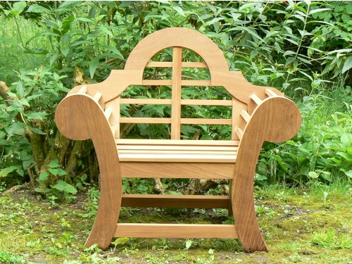 Garden Armchair - Edo Throne Style