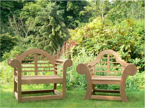 Garden Armchair - Lutyens and Edo Throne Style