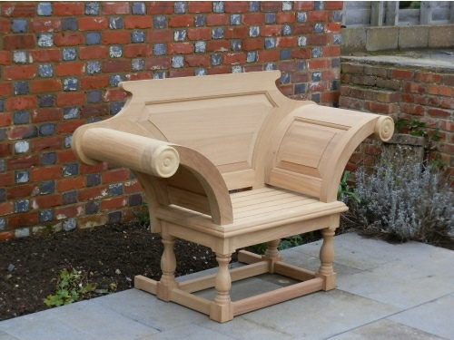 Garden Armchair - Kentian Throne Style