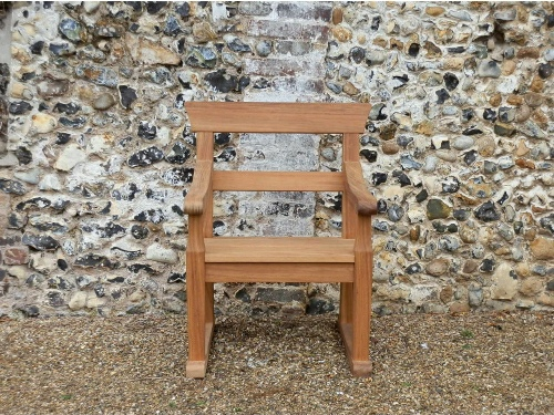 Garden Armchair - Park Armchairs with double back rails
