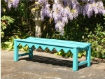 Indian Lattice Backless Bench