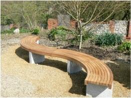 Oak Iroko Teak Bespoke Customised Garden Furniture