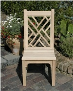 Garden Chair - Chinoiserie Style