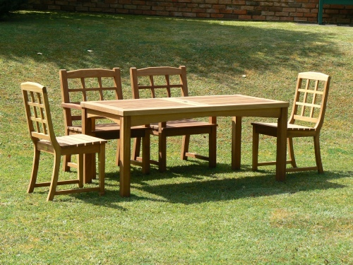 Garden Chair - Dior Style, and Hadham High Table