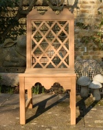 Garden Chair - Indian Lattice Style