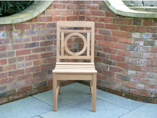 Wooden Garden Chair - Leagrave Style
