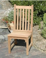 Garden Chair -  Slatted Style