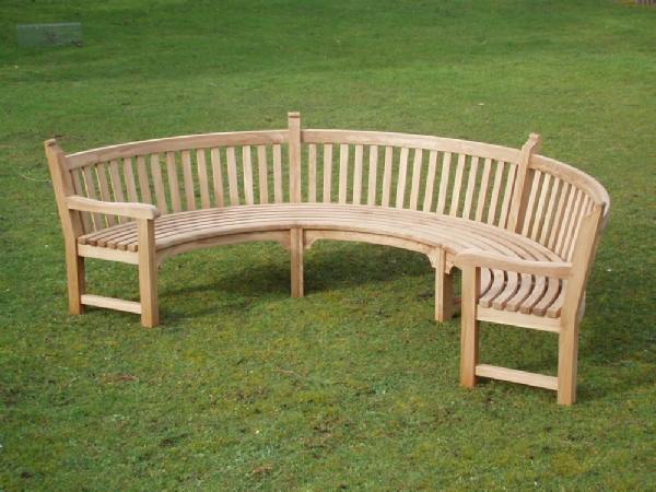 Curved Seat - Audley