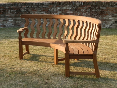 Curved Seat - Solomonic Style