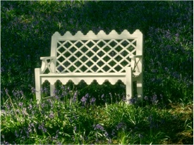 Indian Lattice Two Seater