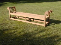 Backless Bench - Lutyens Style, large