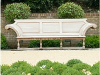 Extra Large Garden Seat - Kentian Style