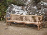 Large Garden Seat - Slatted Five Seater Style