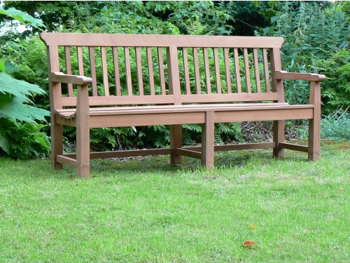 Four Seater Seat - Boscobel Style, made from Iroko