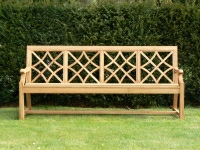 Four Seater Garden Seat - Charles Over Style