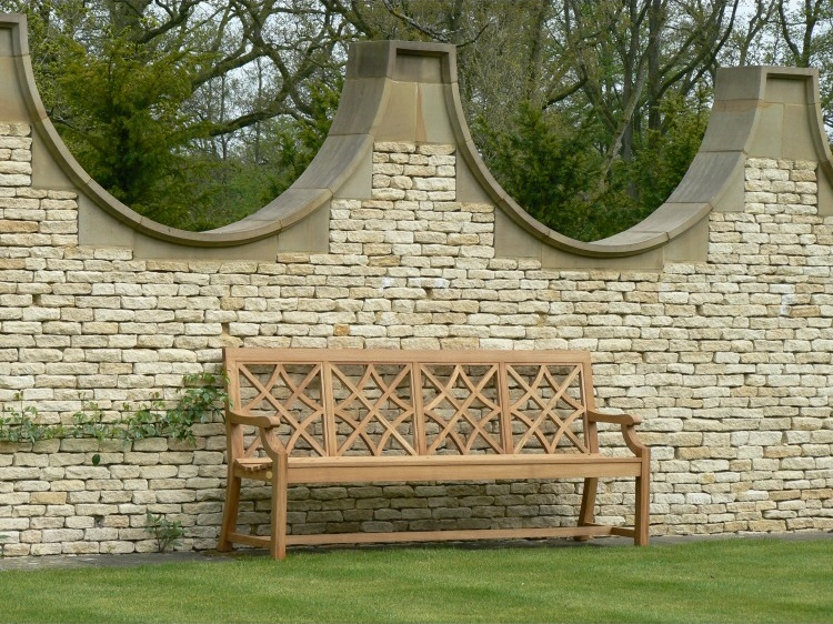 Four Seater Garden Seat - Charles Over 4 Panels Style