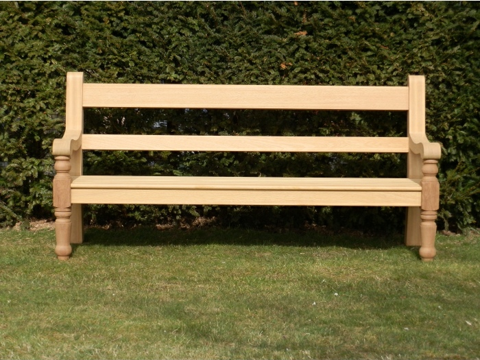 Four Seater Garden Seat - Estate Heavy Turned Front Legs Style