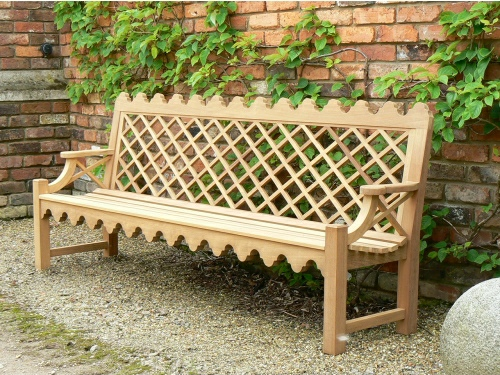 Four Seater Seat - Indian Lattice Style