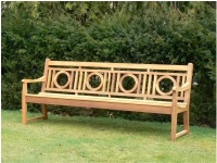 Large Garden Seat - Leagrave Style