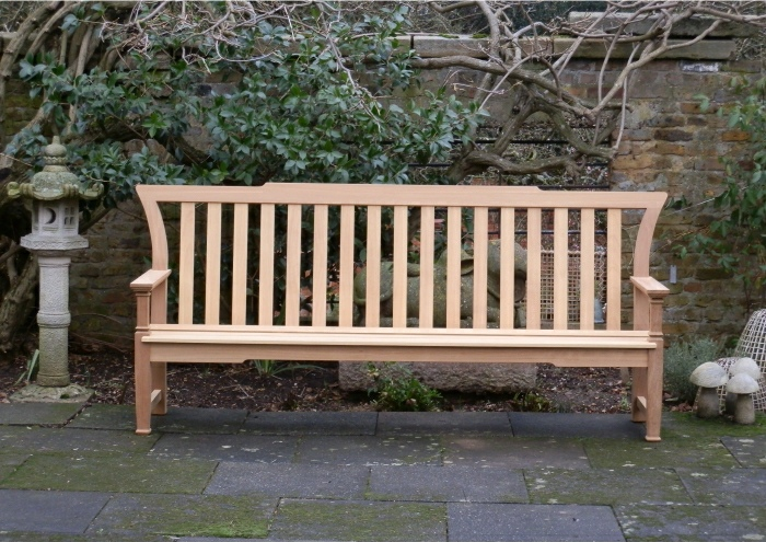 Four Seater Garden Seat - Leagrave Style