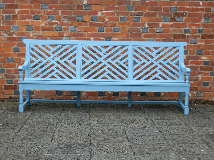 Four Seater Garden Seat - Moot Style with 3 panels