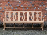 Four Seater Garden Seat - Queen Anne Style