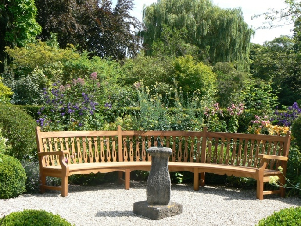 Garden Furniture Hardwood Oak Iroko by Andrew Crace