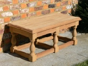 Wooden Garden Furniture - Coffee Table, Kentian style