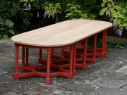 Wooden Garden Table - Combination Table
