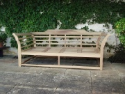 Wooden Garden Furniture - Daybed or Sofabed, Loggia style
