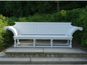 Large Wooden Garden Seat - Kentian Style