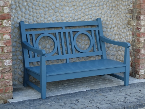 Lounger - Leagrave 2 Seater Sofa painted Morning Blue