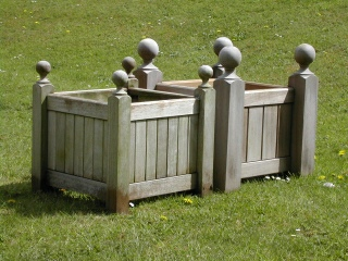 Wooden Planters - Versailles Box and Baroque Box Styles