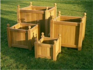 Wooden Planters - Versailles Box Style