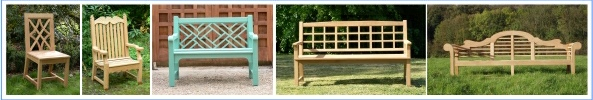 Wooden Garden Chairs and Seats