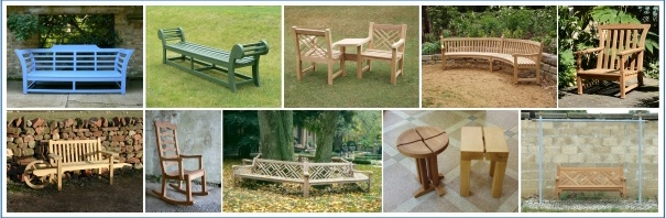 Unusual Garden Chairs and Seat