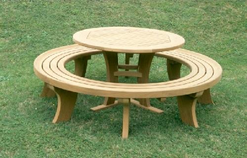 Circular Table U0026 Bench
