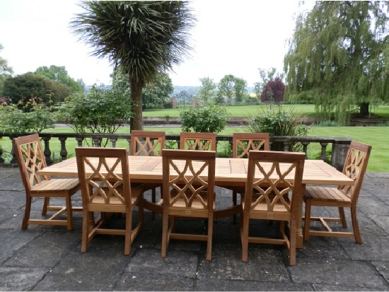 Refectory Table - Hatfield Style, and Charles Over chairs