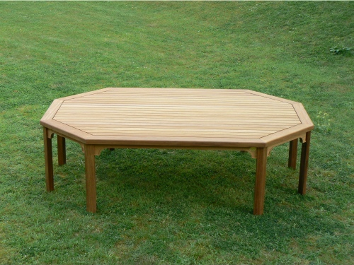 Elongated Octagonal Table