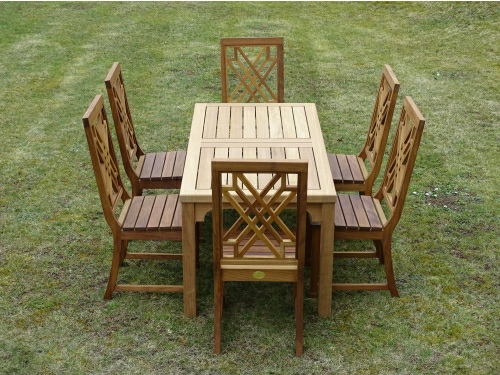 Hadham Rectangular Table & The Pavilion Chairs