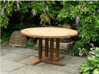 Hadham Round Table with Pedestal