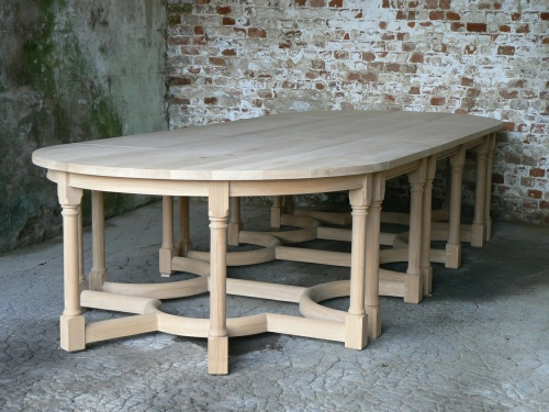 Combination Table - 1 Square, 1 Rectangular & 2 Half Circle tables combined