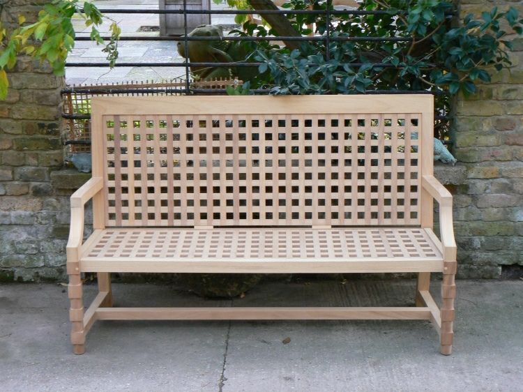 Three Seater Garden Seat - Baroque Style