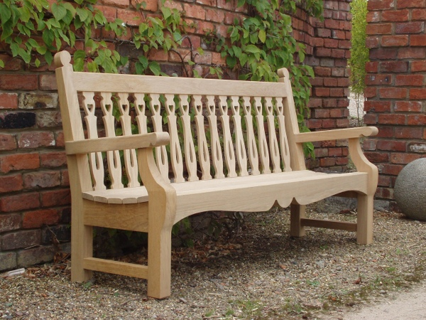 Three Seater Garden Seat - Biddenham Style
