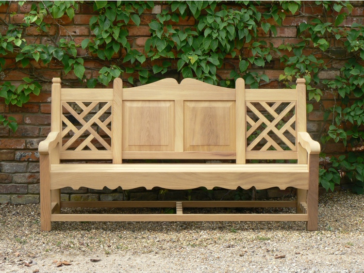 Three Seater Garden Seat - Carlton Style