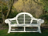 Three Seater Garden Seat - Edo Style