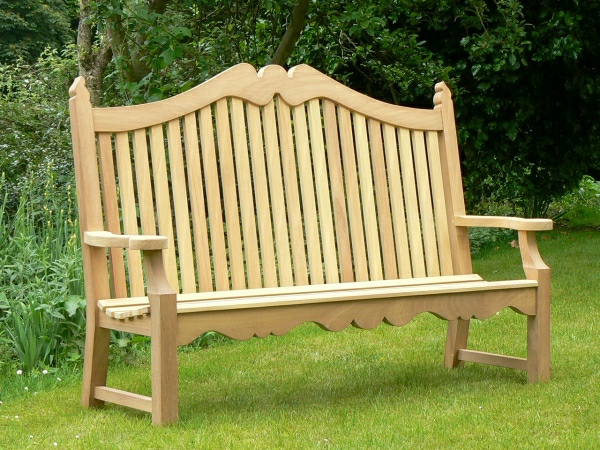 Three Seater Garden Seat - Edwardian Style