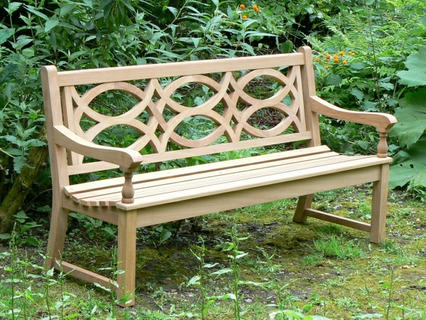 Three Seater Garden Seat - Hatfield Style