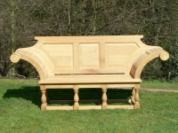 Three Seater Garden Seat - Kentian Style