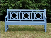 Three Seater Garden Seat - Leagrave Style